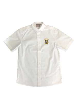 Otahuhu College Senior SS Shirt White